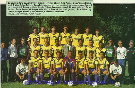 1992-93   Effectif D2