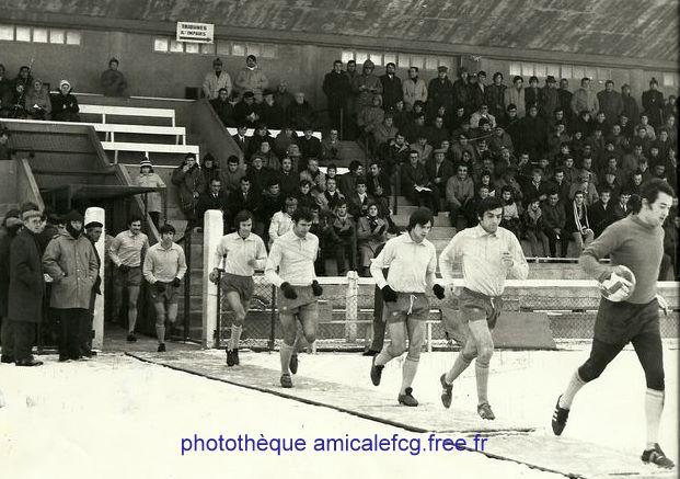 """1970-71    Match """"National"""" D2 contre MONTELIMAR"""