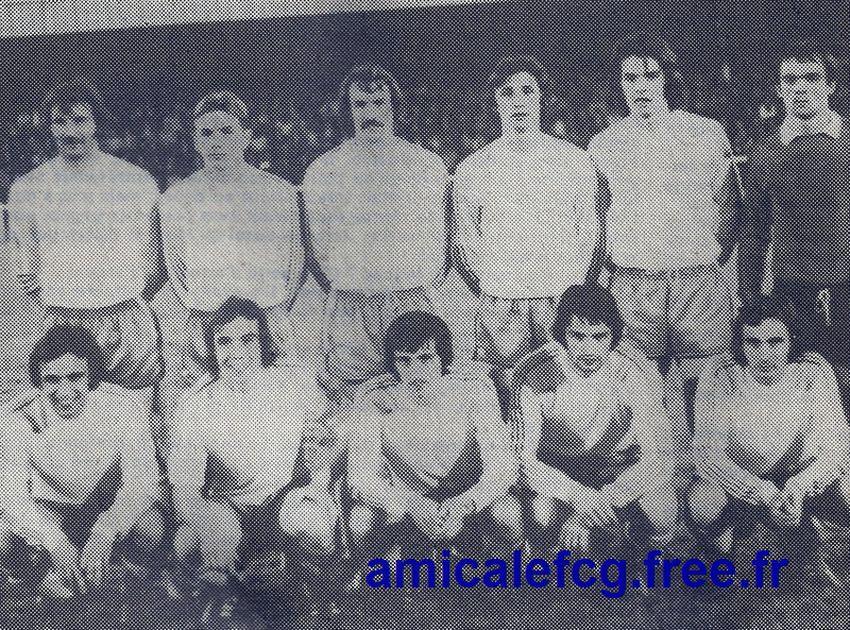 1974-75    Match D2 contre SEDAN