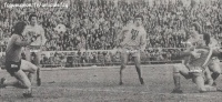1976-77    32ème de finale de Coupe de France  contre LYON