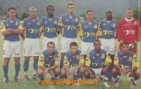 2004-05    Match de préparation