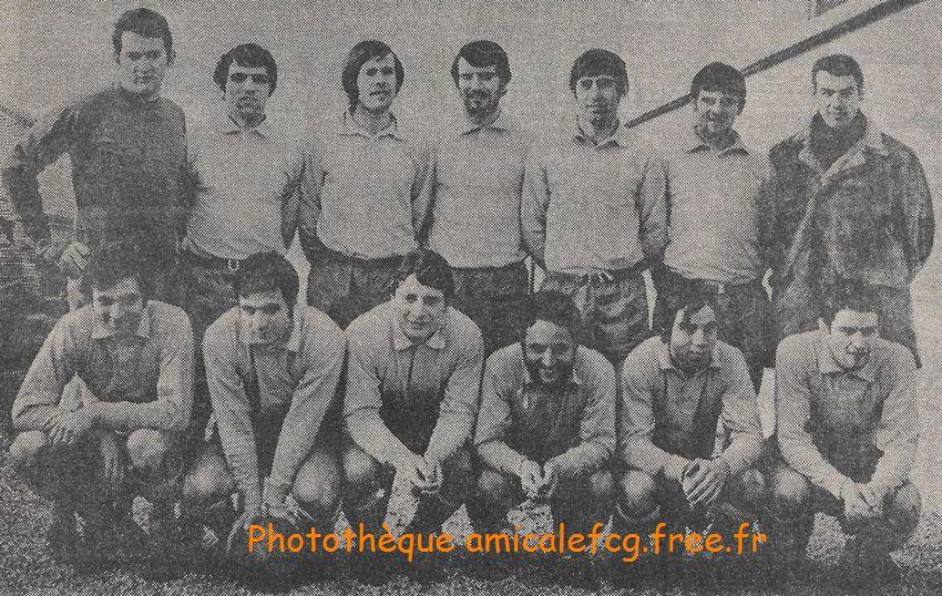1969-70     Match CFA contre MAISONS ALFORT