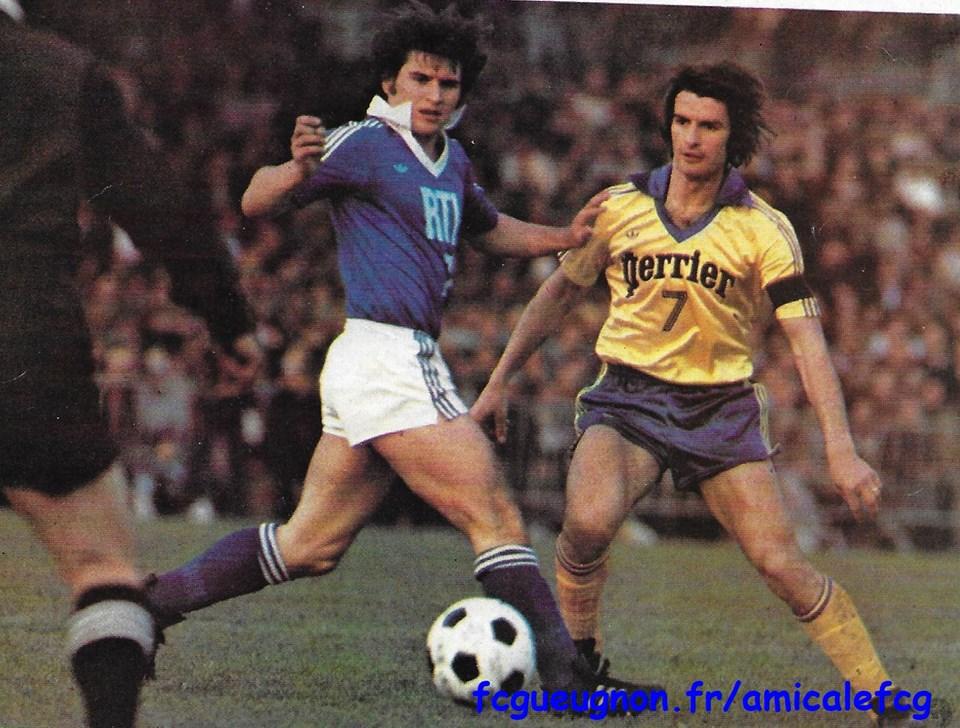1978-79    Coupe de France - 1/4 finale aller contre STRASBOURG