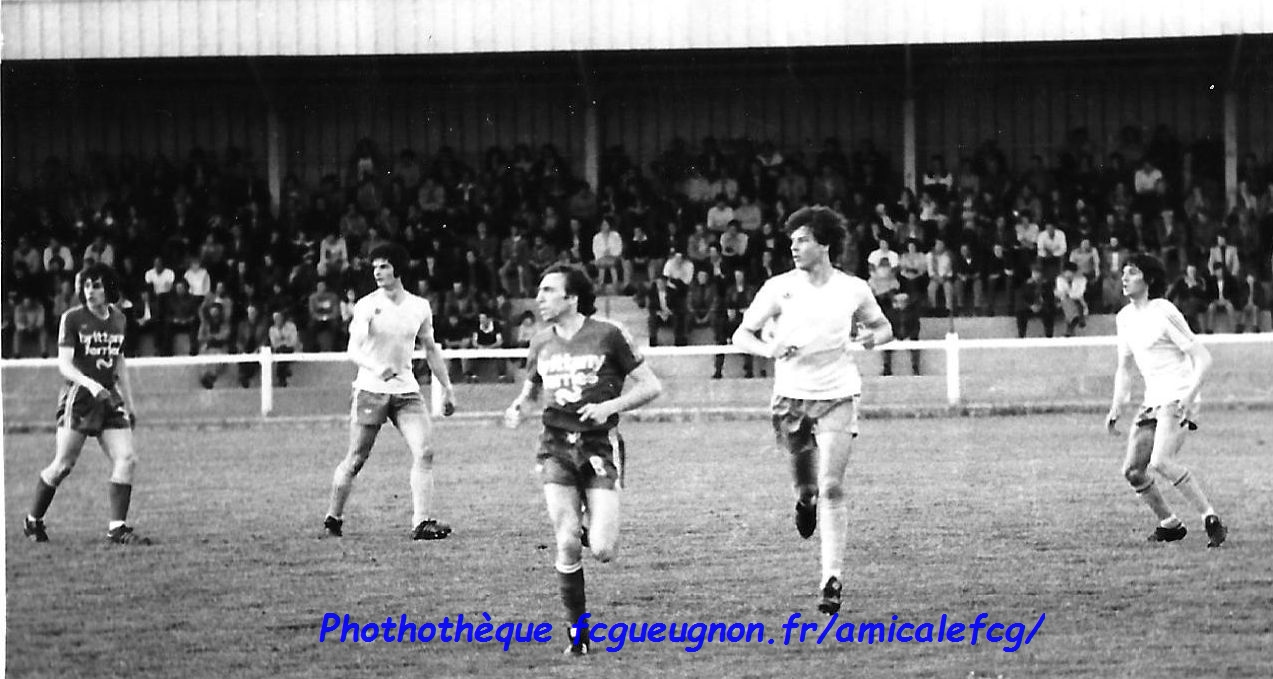 1977-78   Championnat D2 contre BREST