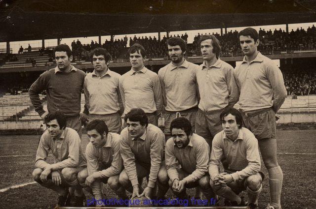 1969-70    Coupe de France 32ème de finale de Coupe de France contre AC AJACCIO
