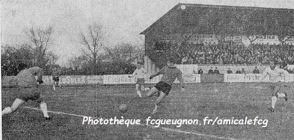 1964-65  Match CFA à MONTLUÇON