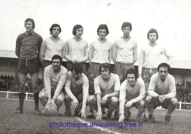 1971-72  Championnat D2 contre  AJACCIO Gazelec