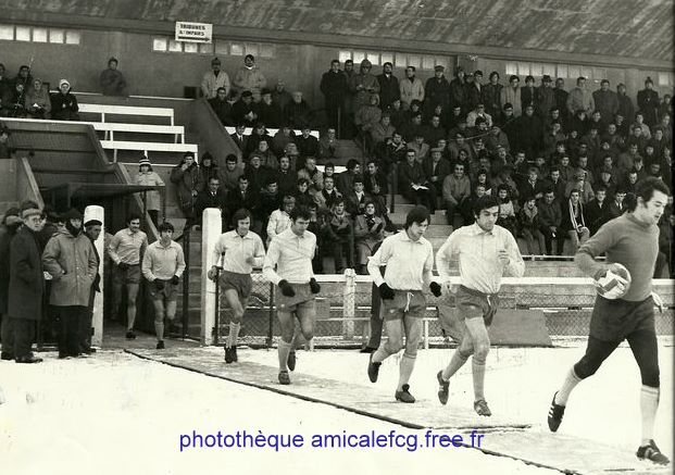 "1970-71    Match ""National"" D2 contre MONTELIMAR"