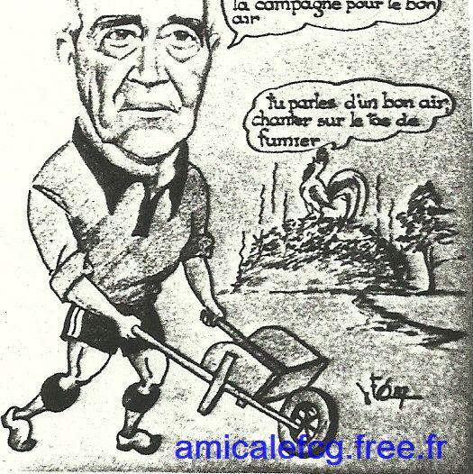 Caricature de Yvon Masson