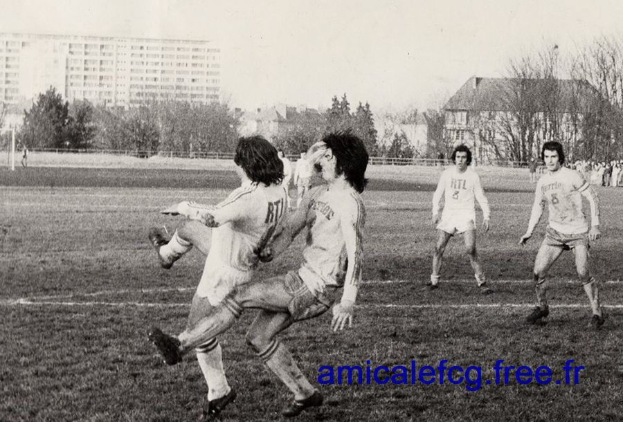 1974-75     32ème de finale de Coupe de France contre NANCY