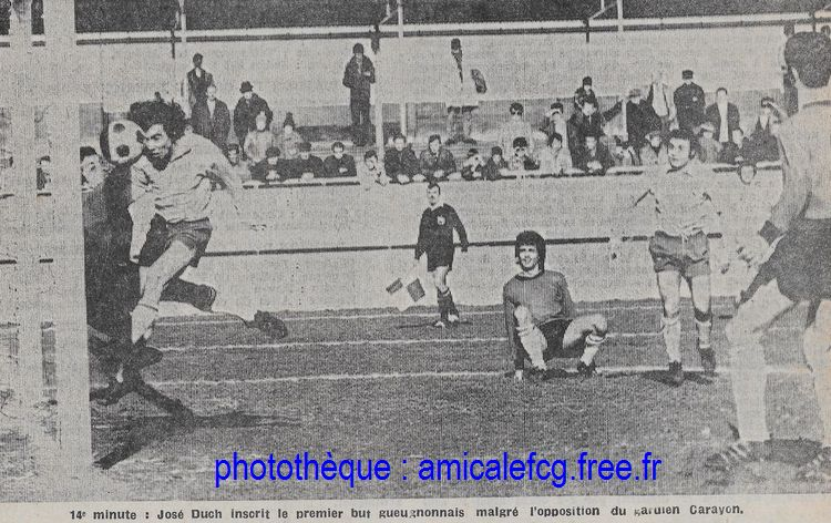 1972-73    Coupe de France 32ème finale contre BOURGES