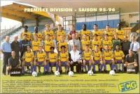 1995-96    Effectif D1
