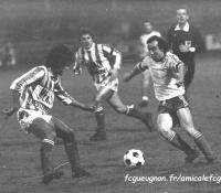 1980-81  Championnat D2 contre CANNES
