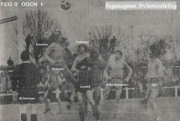 1968-69   1/8 de finale aller de Coupe de France contre NICE