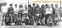 1979  Premier effectif Football féminin