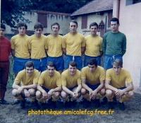 1968-69   Amical à Paray le Monial