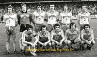 1979    1/4 finale retour à STRASBOURG