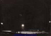 1972 le stade Jean Laville s'illumine