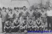 1956-57     Match Honneur contre Cheminots DIJON