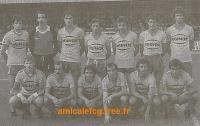 1983-84    Match D2 contre BESANCON